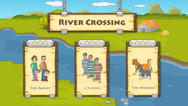 River Crossing : Logic Puzzles Free