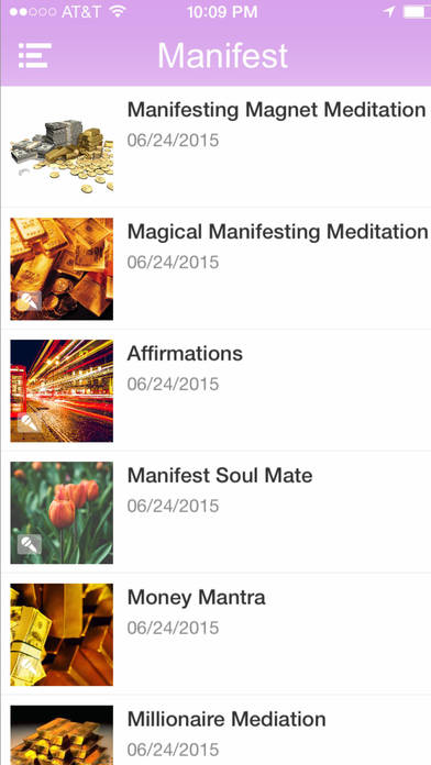 The Ultimate Manifesting Meditation Master Package App-by Jafree Ozwald iPhone Screenshot 2