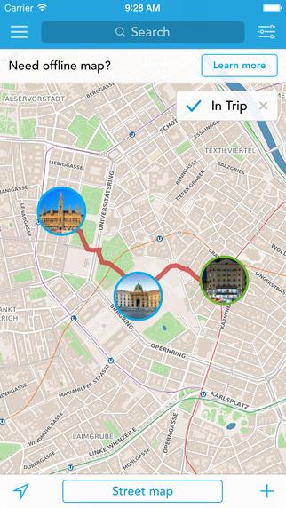 Vienna Trip Planner Travel Guide Offline City Map