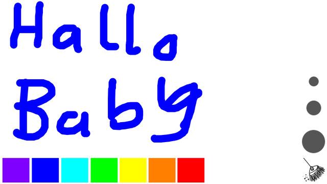 Baby Malen Kreativ