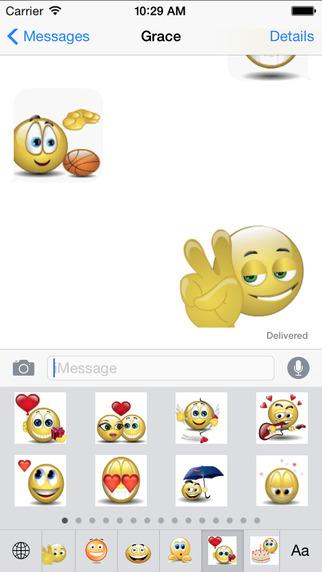 Animoticons Emoji Keyboard Pro - Animated 3D Emoticons Smileys Stickers