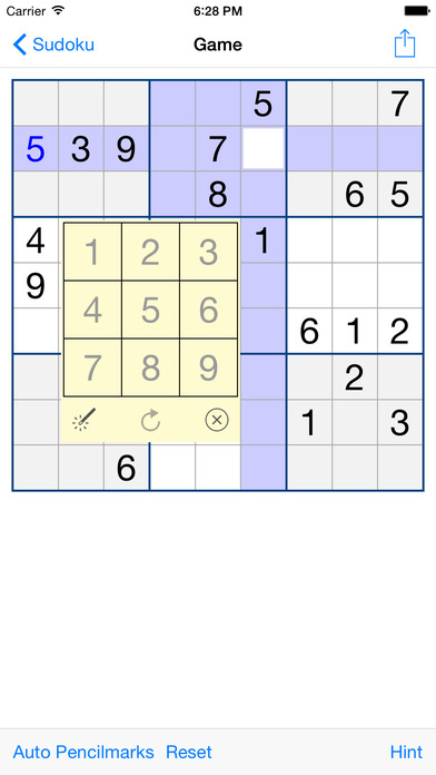 Sudoku 101 (Free) iPhone Screenshot 2