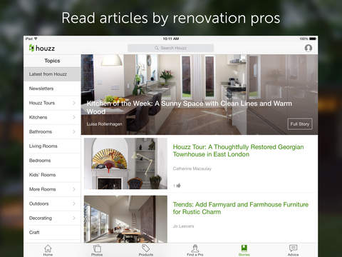 Houzz Interior Design Ideas On The App Store On Itunes