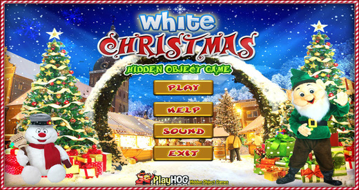 White Christmas - Free Hidden Object Games