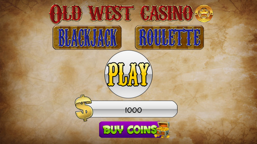 A Aarom Old West Casino Slots and Rouletta Blackjack
