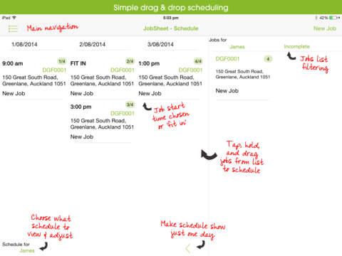 Jobsheet Service App Scheduler and Invoicing