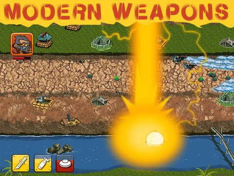 SAF Troopers - Army Defense Battle iPad Screenshot 2