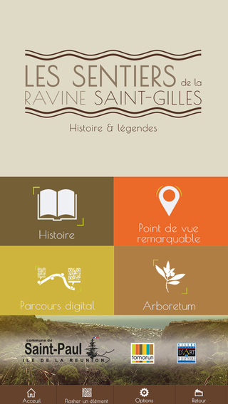 SENTIERS RAVINE SAINT-GILLES