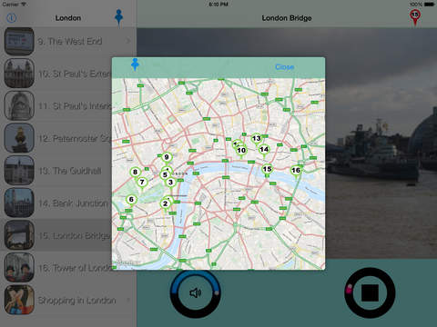 London Giracittà - Audioguide iPad Screenshot 3