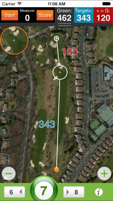 nRange golf GPS iPhone Screenshot 4