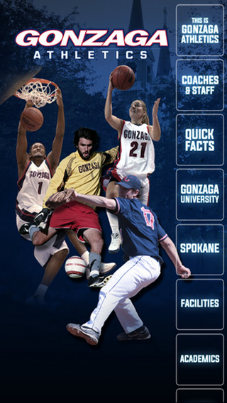 Gonzaga OFFICIAL Kricket App