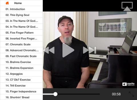 Jordan Rudess: Keyboard Wizdom iPad Screenshot 2