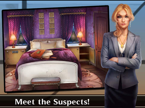 Screenshots of Adventure Escape: Murder Manor (Mystery Room, Doors, and Floors Detective Story!) for iPad