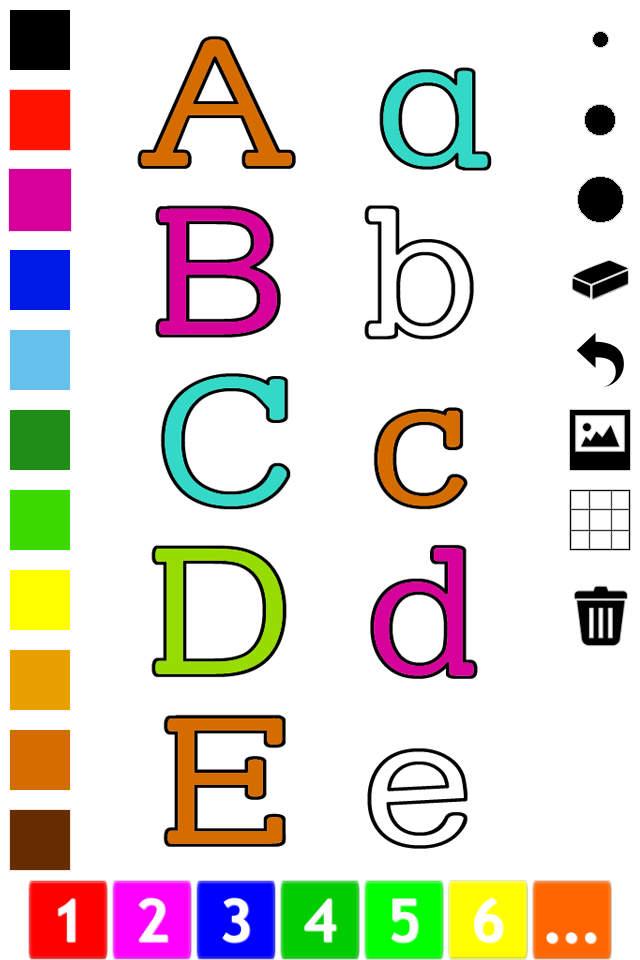 字母 图画书 : 学习写 在英语字母表