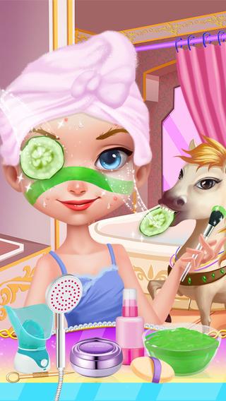Royal Pet SPA Princess Salon - Girls Games
