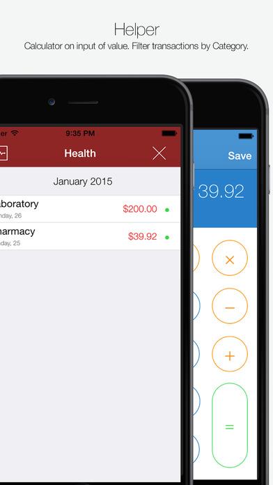 My Finances iPhone Screenshot 4