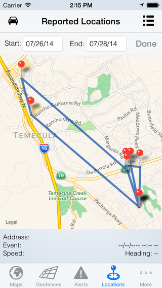 Nimbo GPS iPhone Screenshot 4
