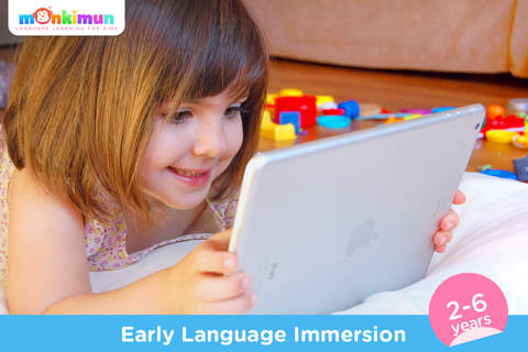 Monki Home - Language Learning for Kids and Toddlers app screenshot