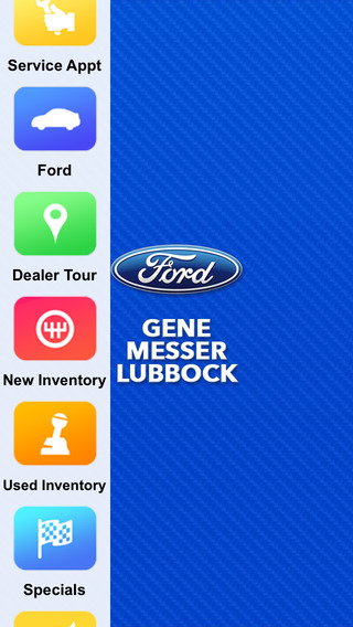 Gene Messer Ford Lubbock Dealer App