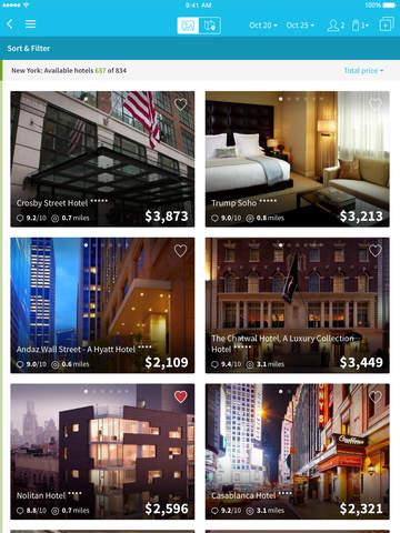 Skyscanner - Hotel Search screenshot