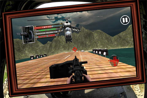 Helicopter Gun Strike screenshot 2