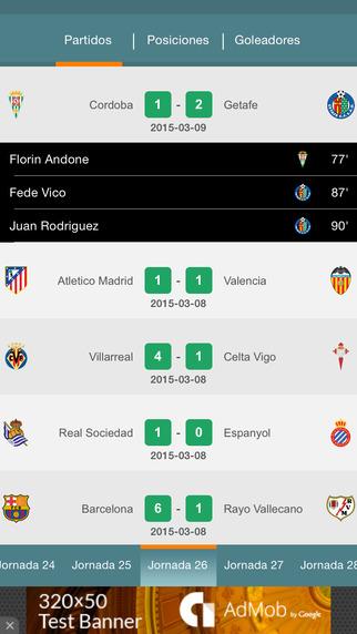 Primera División de fútbol - en vivo partidos resultados clasificaciones estadísticas y la historia