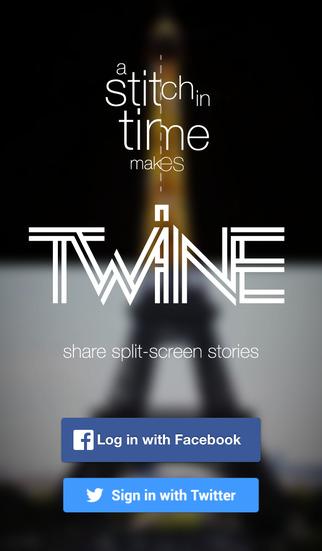 TWINE - share split-screen videos