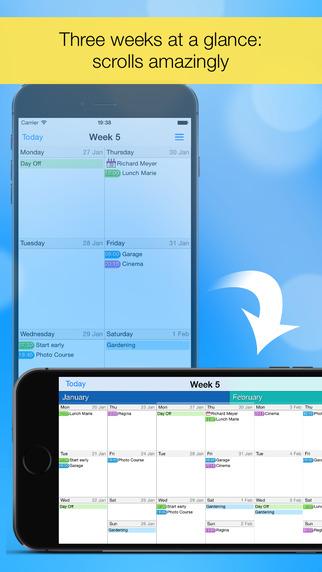 Easy Calendar - 轻松周历[iOS][¥12→0]丨反斗限免