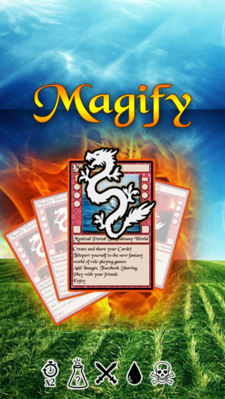 Magify: Create Share Your Own Role Game Cards