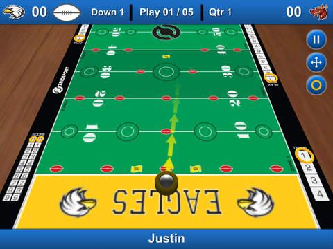 Finger Football Lite (3D Multiplayer) by Zelosport iPad Screenshot 3