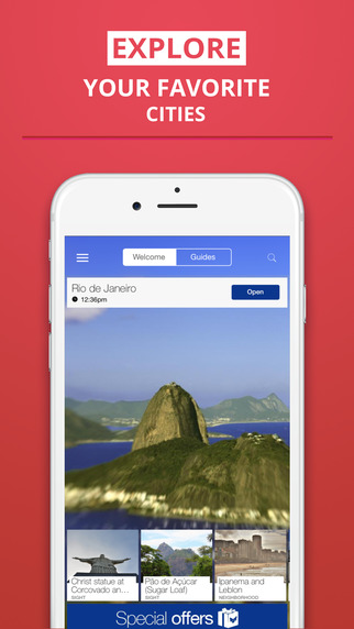 Rio de Janeiro - your travel guide with offline maps from tripwolf guide for sights restaurants and