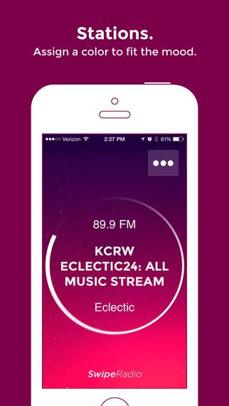 SwipeRadio - Listen to your favorite radio stations: news sports music talk