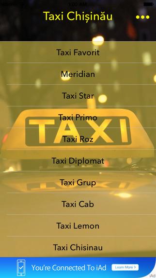 Taxi Chisinau