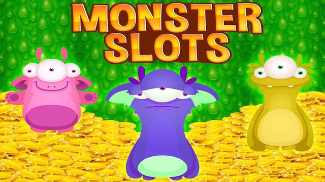 Monster Slots Machine Coin Jam With Bonus