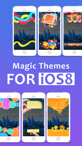 Magic Theme - Custom Lock Screen Themes Wallpapers