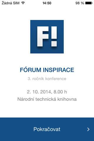 Fórum INSPIRACE screenshot 1