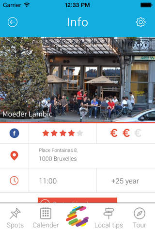 Charly trip - Brussels - Local travel guide screenshot 4