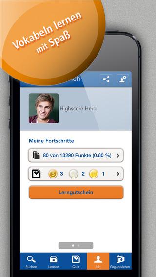 Schülerhilfe Vokabeltrainer Englisch - in app purchase Version