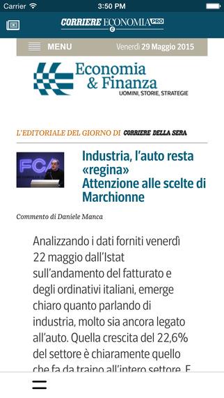 玩免費商業APP 下載Corriere Economia Pro app不用錢 硬是要APP