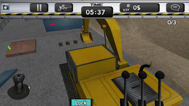 Excavator Quarry Simulator Mania - Claw Skid Steer Backhoes Bulldozers