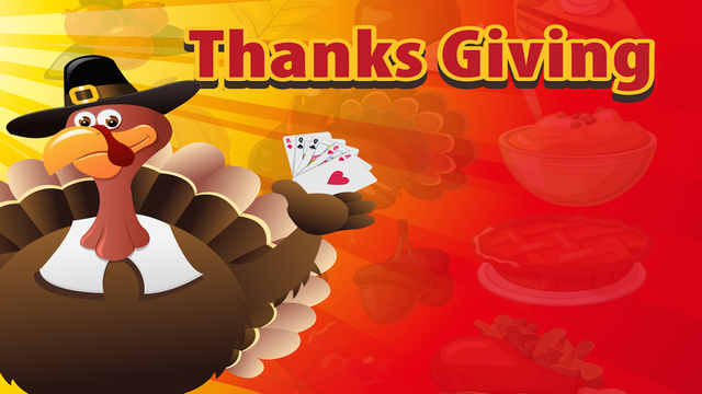 1-2-3 Happy Thanksgiving of Holiday House Fun HiLo Casino Games Free