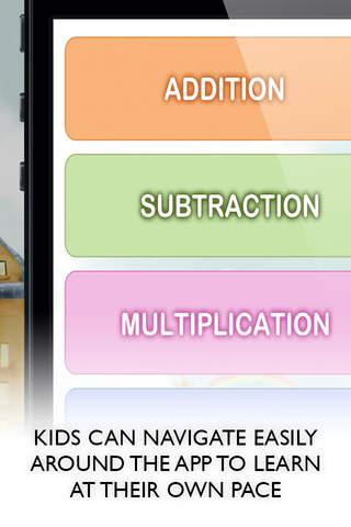 Screenshot 2 Kids Learn Math Game - Free kids educational app to teach maths skills