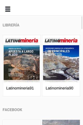 Revista Latinominería screenshot 2
