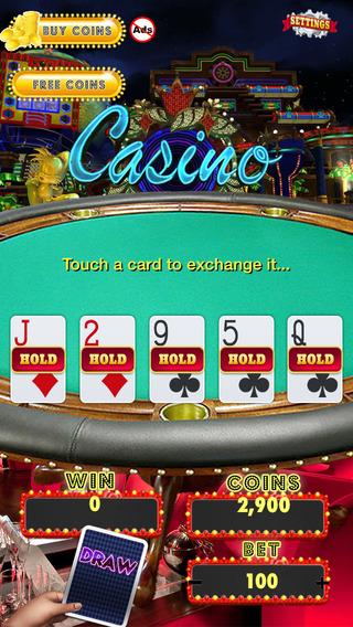 Atlantis Blitz Poker - Top Free Casino Lucky 777 Poker Game