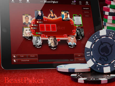 Screenshot 5 Beast Poker HD