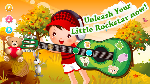 A+ Baby Music Time - Toy Guitar With Toddler Songs and Lullaby