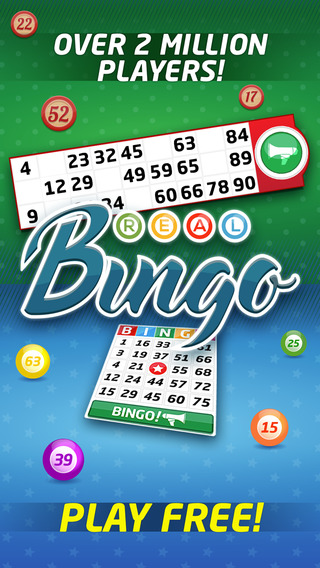Real Bingo - FREE 90 75 Ball Bingo Game