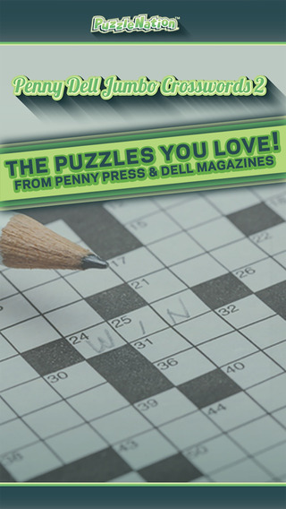 Penny Dell Jumbo Crosswords 2 – Crossword Puzzles for Everyone
