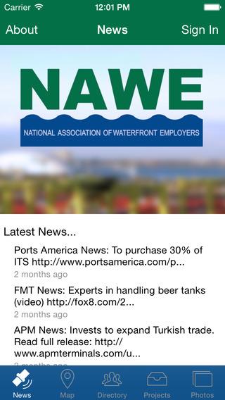 NAWE - National Association of Waterfront Employers