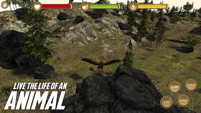 Golden Eagle Simulator HD Animal Life